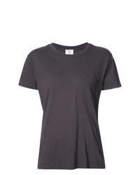 T-shirt à col rond gris foncé RE/DONE