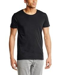 T-shirt à col rond gris foncé Selected