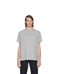 T-shirt à col rond gris 1017 Alyx 9Sm