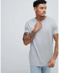 T-shirt à col rond gris Asos