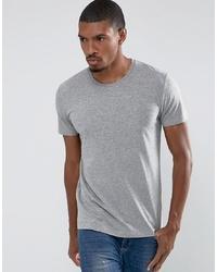 T-shirt à col rond gris Esprit