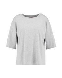 T-shirt à col rond gris Glamorous Petite