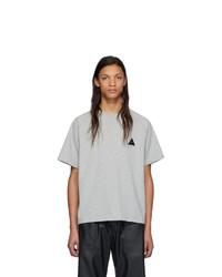 T-shirt à col rond gris GR-Uniforma