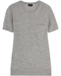 T-shirt à col rond gris J.Crew