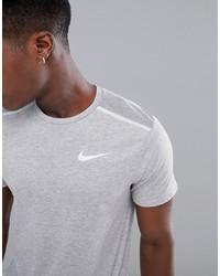 T-shirt à col rond gris Nike Running