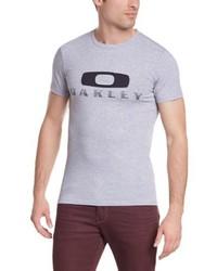 T-shirt à col rond gris Oakley