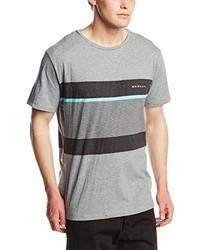 T-shirt à col rond gris Rip Curl
