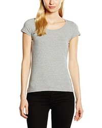 T-shirt à col rond gris Stedman Apparel