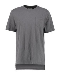 T-shirt à col rond gris YOURTURN