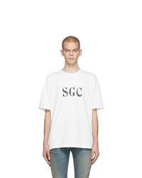 T-shirt à col rond imprimé blanc et noir Stolen Girlfriends Club