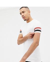 T-shirt à col rond imprimé blanc ASOS DESIGN