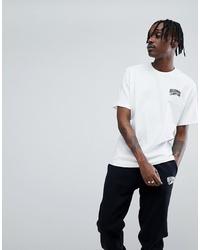 T-shirt à col rond imprimé blanc Billionaire Boys Club