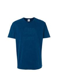 T-shirt à col rond imprimé bleu marine Closed