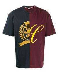 T-shirt à col rond imprimé multicolore Tommy Hilfiger