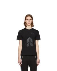 T-shirt à col rond imprimé noir Comme Des Garcons Play