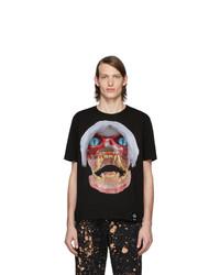 T-shirt à col rond imprimé noir S.R. STUDIO. LA. CA.