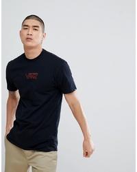 T-shirt à col rond imprimé noir Vans