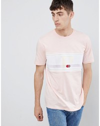 T-shirt à col rond imprimé rose ASOS DESIGN