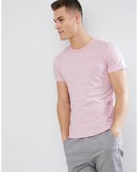 T-shirt à col rond imprimé rose French Connection