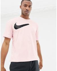T-shirt à col rond imprimé rose Nike Training