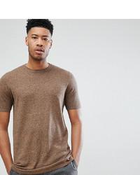 T-shirt à col rond marron clair ASOS DESIGN