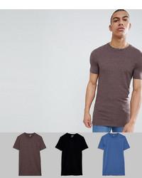 T-shirt à col rond marron ASOS DESIGN