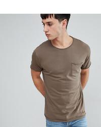 T-shirt à col rond marron Brave Soul