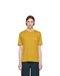 T-shirt à col rond moutarde Comme Des Garcons SHIRT
