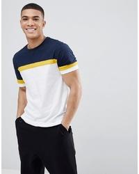 T-shirt à col rond multicolore ASOS DESIGN