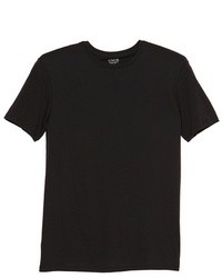 T shirt a col rond noir original 386784