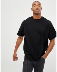 T-shirt à col rond noir ASOS DESIGN