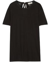 T-shirt à col rond noir Balenciaga