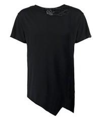 T-shirt à col rond noir Boom Bap