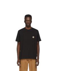 T-shirt à col rond noir CARHARTT WORK IN PROGRESS