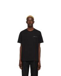 T-shirt à col rond noir Givenchy