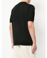T-shirt à col rond noir H Beauty&Youth