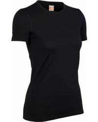 T-shirt à col rond noir Ice Breaker