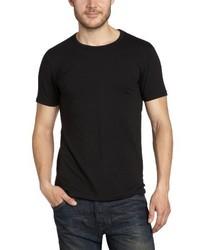 T-shirt à col rond noir Jack & Jones
