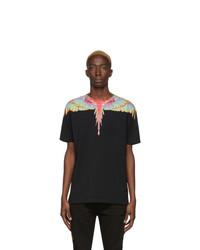 T-shirt à col rond noir Marcelo Burlon County of Milan