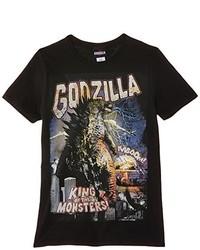 T-shirt à col rond noir NECA