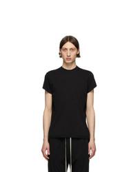 T-shirt à col rond noir Rick Owens DRKSHDW