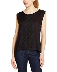 T-shirt à col rond noir Rip Curl