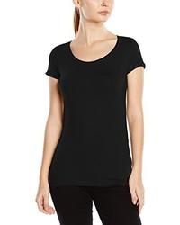 T-shirt à col rond noir Stedman Apparel