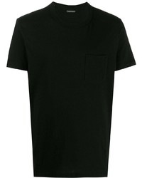 T-shirt à col rond noir Tom Ford