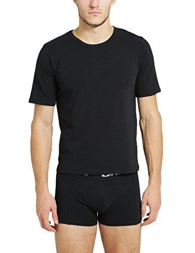 T-shirt à col rond noir Ultrasport