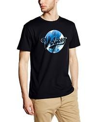 T-shirt à col rond noir Volcom