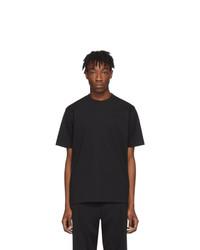 T-shirt à col rond noir Y-3