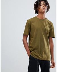 T-shirt à col rond olive ASOS DESIGN