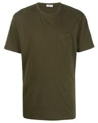 T-shirt à col rond olive Closed