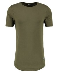 T-shirt à col rond olive ONLY & SONS